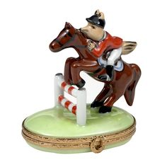 Fox Hunt Limoges Box   Limoges Boxes   Handpainted Porcelain   Collectables   ScullyandScully.com