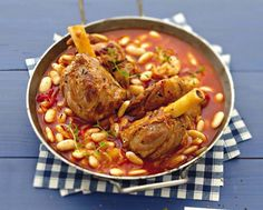 Cassoulet de souris d'agneau – Internationally Inspired Feijoada Recipe, Meat Recipes, Chicken Recipes, Lamb Recipes, Cheat Meal, My Best Recipe, Winter Food, My Favorite Food, Coco