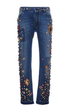 SS 15 Jeans by Dolce & Gabbana for Preorder on Moda Operandi