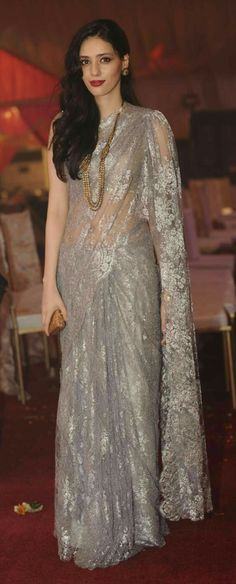 Indian Celebrities Exquisite Saree Clothings