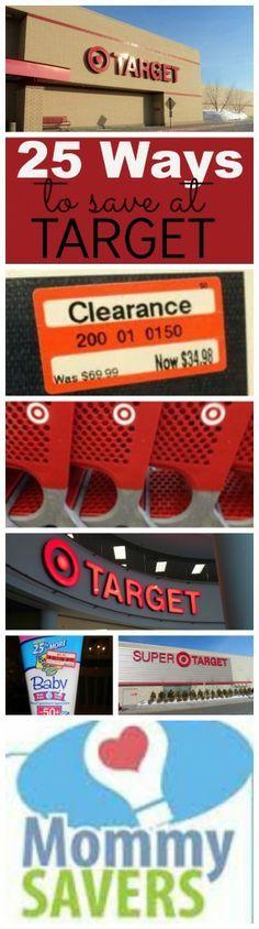 25 Ways to Save Money at Target #Target