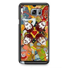 The Beatesl In Art TATUM-10661 Samsung Phonecase Cover Samsung Galaxy Note 2 Note 3 Note 4 Note 5 Note Edge