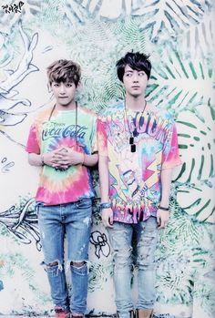 Jin and V  Isso é perfeição ♡♡♡