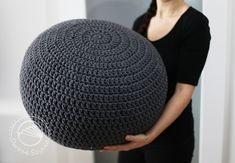 big pouf  #crochet #owoceszycia
