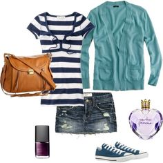 Pretty Little Liars: Emily inspired outfit.