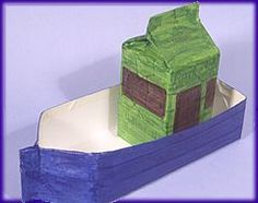 Serendipity is Sweet: Recycled Crafts - Make a Boat to Float Make A Boat, Build Your Own Boat, Diy Boat, Boat Building Plans, Boat Plans, Ark Craft, Crafts To Make, Crafts For Kids, Hand Crafts