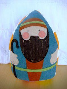 So happy.: Plush Nativity.