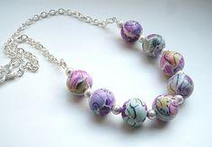 Polymer clay collage beads by Di   https://www.facebook.com/DiKeebleBeadsandJewellery