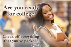 Here's Everything You Need To Get Ready For College