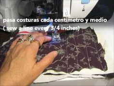 Tutorial bufanda en chenille, scarf in chenille, English subtitle. Scarf, Chenille Fabric, Upcycle, Tutorials, English, Patterns, Watch, Sewing, Youtube