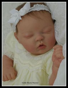 ONLY ON EBAY! Look! PIPPIN Bonnie Brown Reborn Baby by ~Little Hearts Nursery~