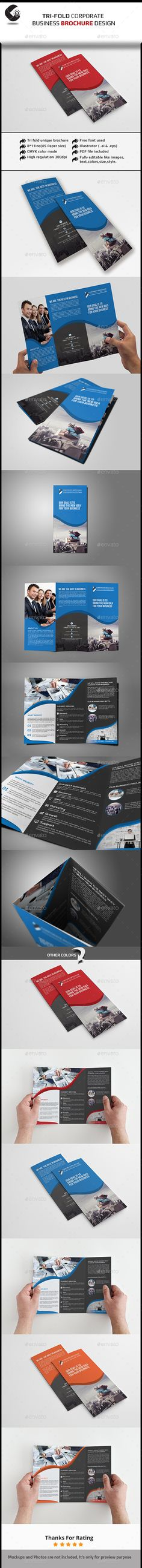Fitness Brochure Tri-Fold Tri fold, Corporate brochure and Brochures - fitness brochure