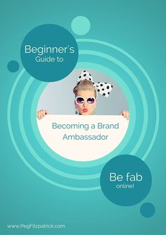 Fantastic tips for people aspiring to work with brands as a brand ambassador.