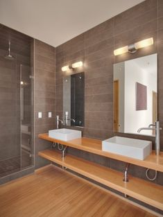 There are several types of bathroom lighting fixtures. Bathroom lighting fixtures are designed to give you focused task lighting or overhead lighting. Modern Bathroom Light Fixtures, Contemporary Bathroom Lighting, Bathroom Sconces, Glass Bathroom, Modern Bathroom Design, Small Bathroom, Modern Vanity Lighting, Gray Bathrooms, Vanity Bathroom