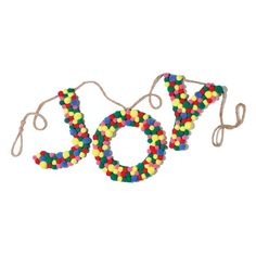 Avon Living Holiday Cheer Joy Garland. Bring some joy to your holiday celebrations with this festive garland.