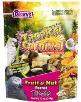 F.M.BROWN'S Tropical Carnival Fruit and Nut Parrot Treat