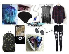 Random by thyra-dahl on Polyvore featuring Mode, Glamorous, HVBAO and Vans