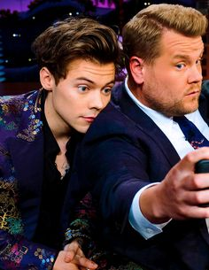 Harry Styles // Late Late Show with James Cordon