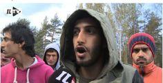 """""""Me haluamme rahaa!"""" laittomia maahantunkijoita Oulussa."""