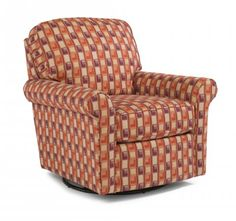 Parkway Fabric Swivel Glider by #Flexsteel via Flexsteel.com