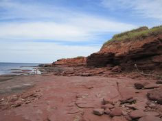 Red Cliffs at Cavendish PEI Canada Cavendish Beach, Pei Canada, Prince Edward Island, Places Ive Been, Journey, Water, Red, Travel, Outdoor