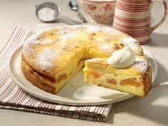 Käsekuchen ohne Boden backen - so geht's - kaesekuchen-ohne-boden  Rezept