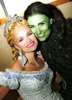 WICKED!! Original Glinda - Kristin Chenowith and original Elphaba - Idina Menzel