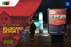 Check out Bus Stop Billboard Design 1 by Cooledition on Creative Market