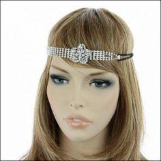 Fashion Flower Rhinestone Headband