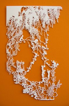 Beautiful detailed papercut art—Certain Place (archival paper)—by Emma van Leest❣