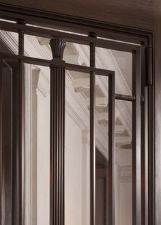 Entry Door Grille Detail, New Apartment on Fifth Avenue by John B. Murray Architect. Interior Design by Stephen Sills.