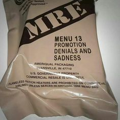 MRE truth in advertising
