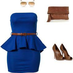 """""""#Blue #Set"""" by leovandesign on Polyvore  #fashion https://www.facebook.com/leovandesign"""
