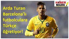 Barcelona'nın Brezilyalı futbolcusu Neymar, Milli futbolcu Arda Turan ile çektirdiği fotoğrafın altına Türkçe olarak 'Günaydın' yazdı ve instagram hesabından paylaştı. Neymar ne yazdı? ,Neymar Türkçe olarak ne yazdı? Bar..
