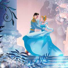 Cinderella will forever be my favorite disney princess Disney Pixar, Arte Disney, Disney Animation, Disney Magic, Disney Art, Disney Characters, Cinderella Prince, Cinderella And Prince Charming, Cinderella Disney