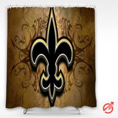 #NFL #NEW #ORLEANS #SAINTS #nfl #football #Shower #Curtain #showercurtain #decorative #bathroom #creative #homedecor #decor #present #giftidea #birthday #men #women #kids #newhot #lowprice #cover #favorite #custom #friend