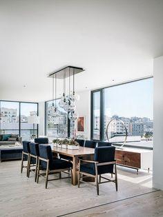 20 Bountiful Contemporary Dining Room Interior Designs
