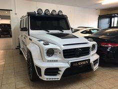 MERCEDES-BENZ G 63 AMG ARMORED MANSORY GRONOS II