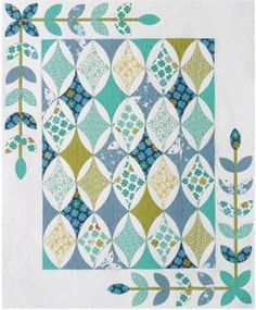 Hope's Diamond quilt