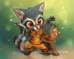 ★ Patreon: Free art raffle, hi-res images, PSD and process videos  ★ ✧ Tumblr ✧ Twitter ✧ Instagram ✧ Guardians of the Galaxy is one of my favorite Marv...