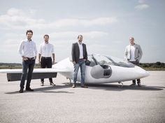 Lilium's founders and their jet.         Lilium                   Lilium, a German aviation startup developing an electric   car-sized aircraft, has been backed by investors with $90 million   (£70 million) to help it become the Uber of the sky.     Founded by four...