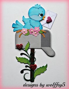 These cute die cut dimensional piecings were handmade and paper pieced. Hat Crafts, Crafts To Make, Crafts For Kids, Diy Paper, Paper Crafts, Felt Birds, Paper Piecing Patterns, Stone Crafts, Box Design