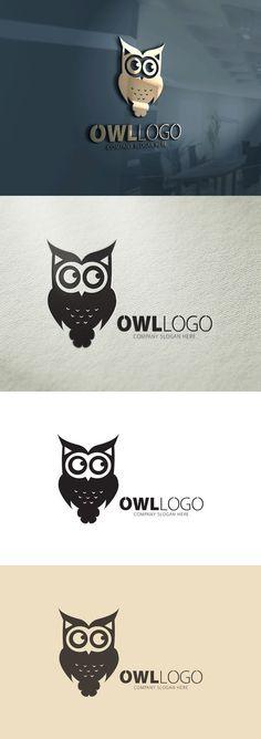 Owl Logo. Clothes Icons. $28.00