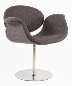 Love this Dark Gray Lily Chair on #zulily! #zulilyfinds