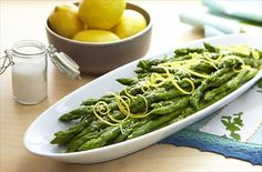 Chilled Lemon Asparagus Salad Recipe | P everyday