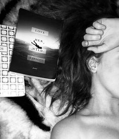 """I love seeing your pictures of """"Love Her Wild."""" What's your favorite poem from the book? Beautiful Poetry, Atticus, Love Pictures, Inspire Me, Envy, Love Her, Journals, Vsco, Poems"""
