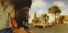 Carel Fabritius - View in Delft (1652)