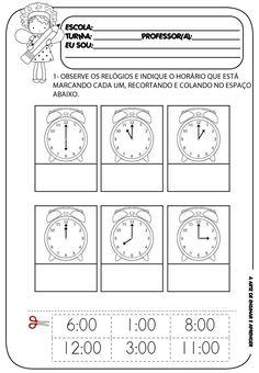 Atividade pronta - matemática (horas)