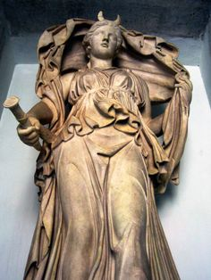 Selene - a Titan later supplanted by Artemis an Olympian. For the Romans it was Luna later supplanted by Diana.  All seem to have overlap with Hecate or Hecate with them depending on the stories.