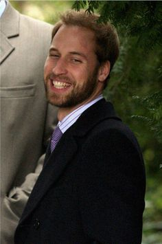 Prince William. I have never seen a picture with him in a beard!